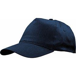 Kapa BASIC 5 pamučna tamno plava, čičak 86190 P50/200