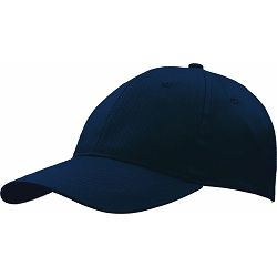 Kapa BASIC 6 pamučna tamno plava, čičak 86198 P50/200