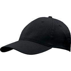 Kapa BASIC 6 pamučna crna, čičak 86200 P50/200