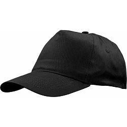 Kapa BASIC 5 pamučna crna, čičak 86194 P50/200