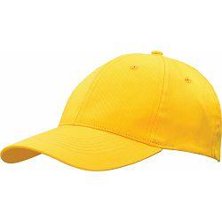 Kapa BASIC 6 pamučna žuta, čičak 86201 P50/200