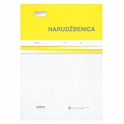 I-14/NCR NARUDŽBENICA A-4; Blok 100 listova, 21 x 29,7 cm