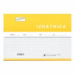 I-18/NCR IZDATNICA; Blok 4 x 50 listova, 21 x 14,8 cm