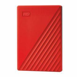 Vanjski Tvrdi Disk WD My Passport™ USB 3.2 Red 4TB