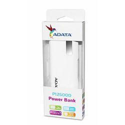 ADATA  Power Bank P12500D WHITE AD
