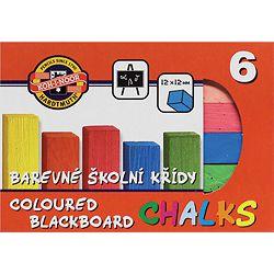 Kreda šk.u boji  1/6 četvrtasta K-I-N bls P40