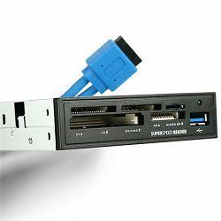 """AXAGON CRI-S3 Interni 3.5"""" USB 3.0 čitač memorijskih kartica"""