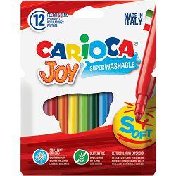 Flomasteri 1/12 CARIOCA JOY 40531 pvc perivi bls P24