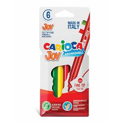 Flomasteri  1/6 CARIOCA JOY pvc 40549 bls P48