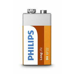 PHILIPS baterija 6F22L1B/10