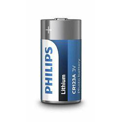 PHILIPS baterija CR123A/01B