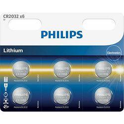 PHILIPS baterija CR2032P6/01B
