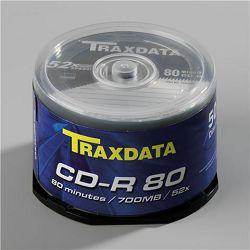 TRAXDATA OPTIČKI MEDIJ CD-R CAKE 50