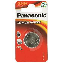 PANASONIC baterije CR-2430EL/1B Lithium Coin
