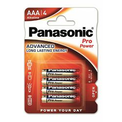 PANASONIC baterije LR03PPG/4BP Alkaline Pro Power