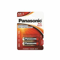 PANASONIC baterije LR6PPG/2BP Alkaline Pro Power