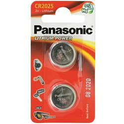 PANASONIC baterije CR-2025EL/2B Lithium Coin