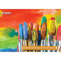 Blok za crtanje br.3 STREET P100