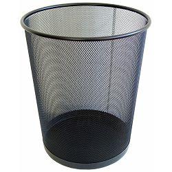 Koš za smeće žica okrugli HY65001, LD01158 22681 crni P20