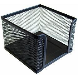 Kutija kocka žica 9x9cm crna 22701 P12/96