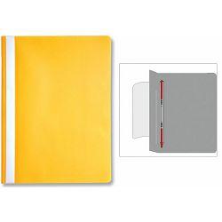 Fascikl pvc klizna meh.OPTIMA žuti P20/240