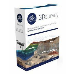 3Dsurvey subscription license - Mjesečna licenca