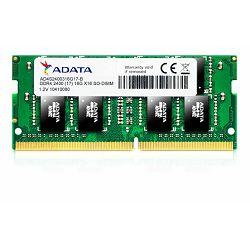 Adata Memorija SO-DIMM DDR4 4GB 2400MHz SINGLE TRAY