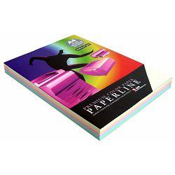 Papir fotok.PAPERLINE A4 5 boja MIX pastel 80gr. 250/1 P10 822