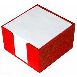 Blok kocka PVC 8x8x5 crvena P50
