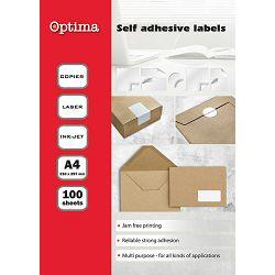 Etikete IJ-Laser A4 105x148 100E483 - 4 OPTIMA P10