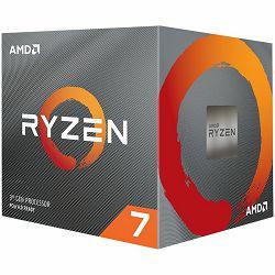AMD CPU Desktop Ryzen 7 8C/16T 3700X (4.4GHz,36MB,65W,AM4) box with Wraith Prism cooler