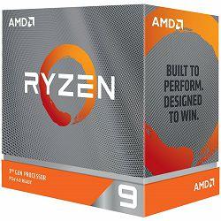 AMD CPU Desktop Ryzen 9 12C/24T 3900XT (4.7GHz Max Boost,70MB,105W,AM4) box