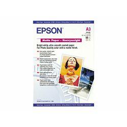 EPSON paper matt heavyweight A3 50sh