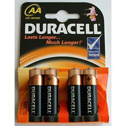 Baterija DURACELL AA (LR6) IMPROVED BASIC 4/1 alkalna 411103 bls P1/20