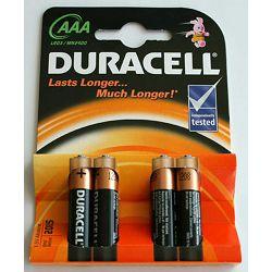 Baterija DURACELL AAA (LR03) IMPROVED BASIC 4/1 alkalna bls P1/20