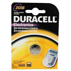 Baterija DURACELL DL 2016 1/1 litijska bls P10