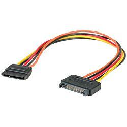 Roline SATA naponski produžni kabel, 0.3m