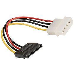 Roline naponski kabel, 4-pin HDD - SATA, 15cm