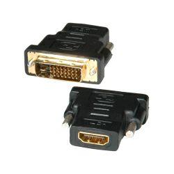 Roline adapter DVI-D (24+1) - HDMI, M/F