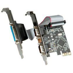 Roline VALUE PCIe kontroler 2×RS232/1×Parallel