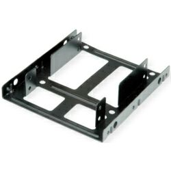 """Roline HDD montažni adapter, 3.5"""" za 2×2.5"""" HDD/SSD, metalni"""