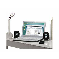 LOGI Z120 Speaker 2.0 1.2W bk wh USB