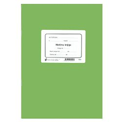 XIX-1 MATIČNA KNJIGA POLAZNIKA; Knjiga 40 stranica, 21 x 29,7 cm