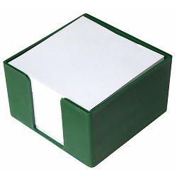 Blok kocka PVC 8x8x5 zelena P50