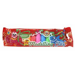 Plastelin K-I-N 200g, 10 boja u vrećici P15