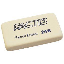 Gumica Factis sintetička 24R bijela kom #00222