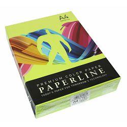 Papir fotok.PAPERLINE A4 fluo zeleni CHP GREEN 75gr.500/1 P5 321