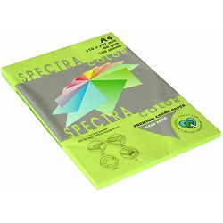 Papir fotok.SPECTRACOLOR A4 fluo zeleni CHP GREEN 75gr.100/1 P22 321