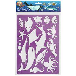 Šablona za crtanje 187x266mm OCEAN 9820 KOH-I-NOOR P24