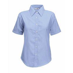 Košulja FOL KR 135g Lady fit Oxford Shirt atlantic plava XL P12 NETTO 50%